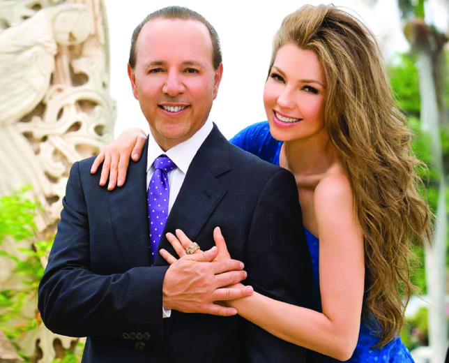 tommy mottola and wife thalia mottola