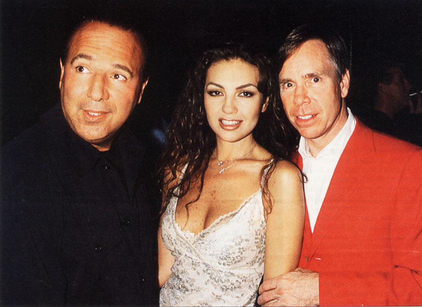 Tommy Mottola And Thal...