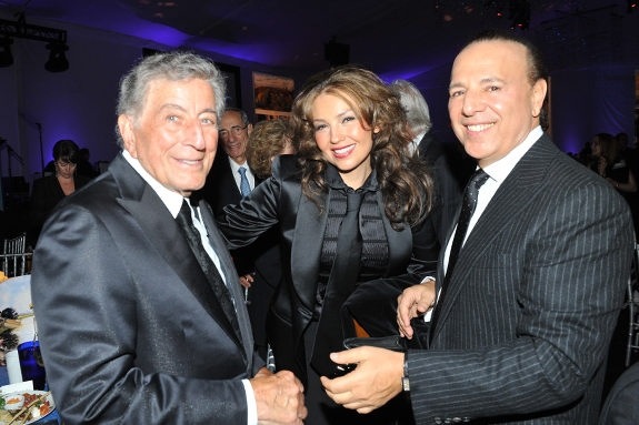 thalia_tony_bennett_birthday_gala_September_2011_5