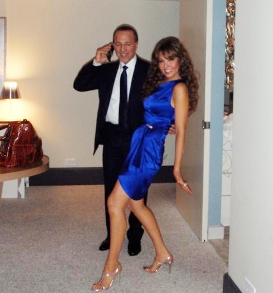 Thalia Mottola & Tommy Mottola in Washington DC for Fiesta Latina with President Barack Obama