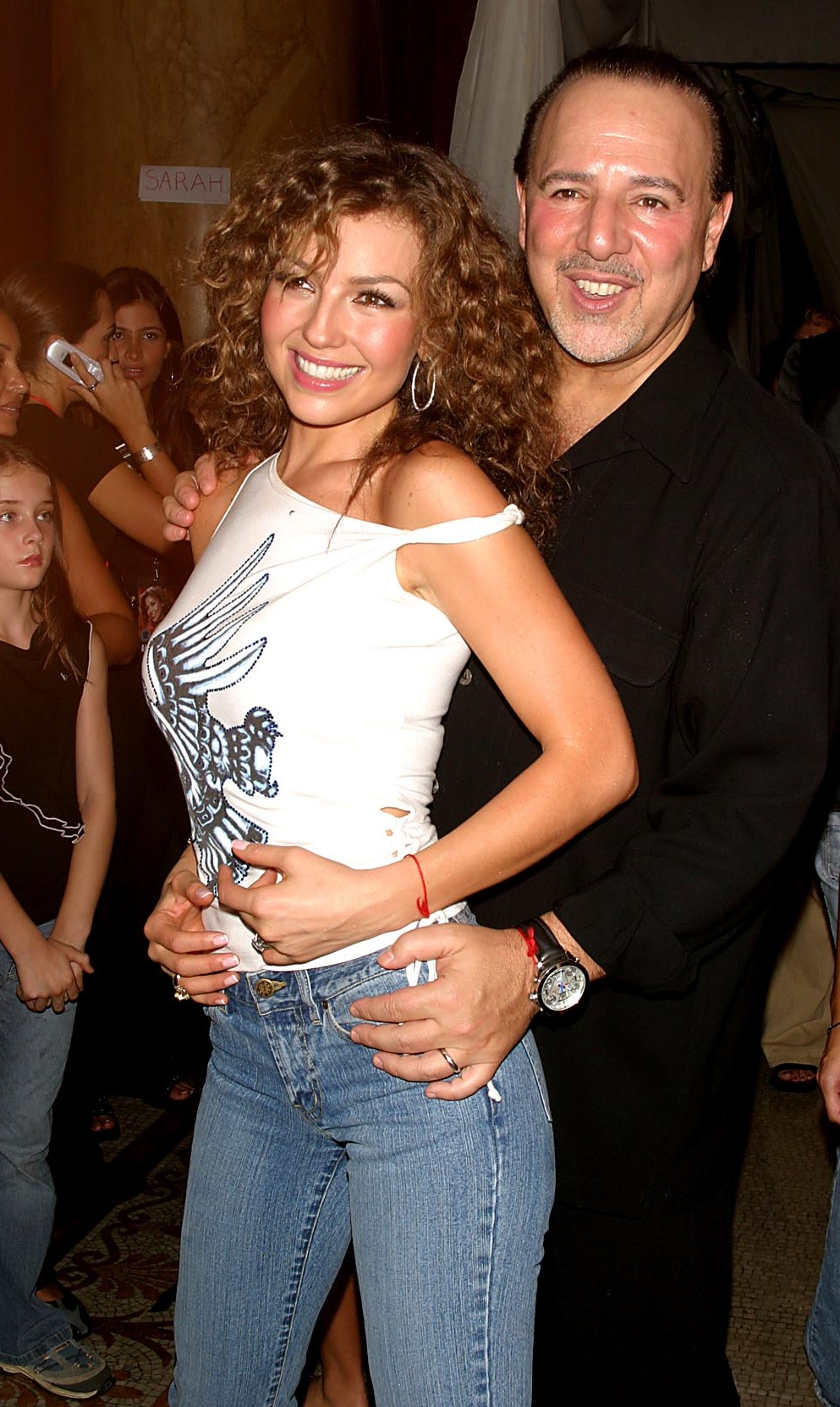 Thalia and Tommy Mottola - Planet Thalia