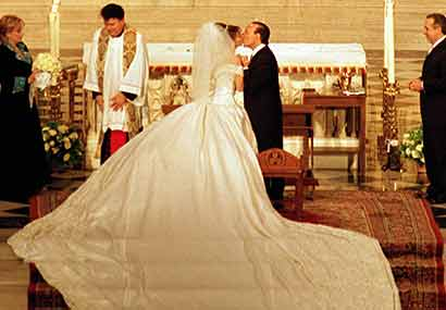 Thalia Y Tommy Mottola Boda Wedding 2000