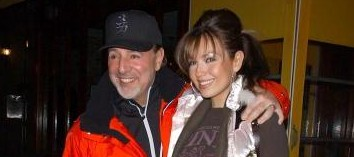 Tommy Mottola with wife Thalia Mottola