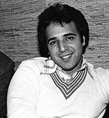 Tommy Mottola as a young man, married to Thalia Mottola